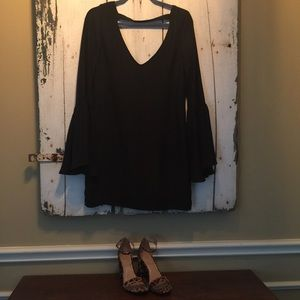 SMYM mini black dress